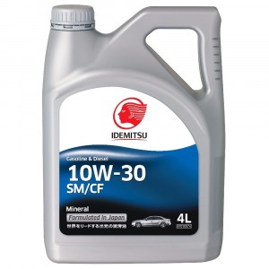 Моторное масло Idemitsu 10W-30 (4 л)
