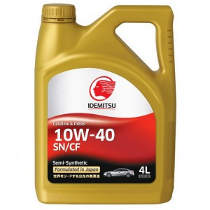 Моторное масло Idemitsu 10W-40 (4 л)