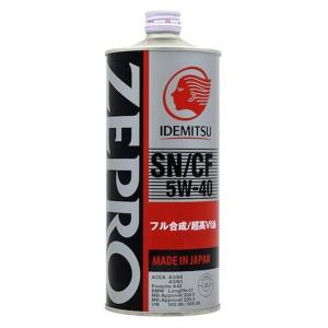 Моторное масло Idemitsu Zepro Euro Spec 5W-40 (1 л)