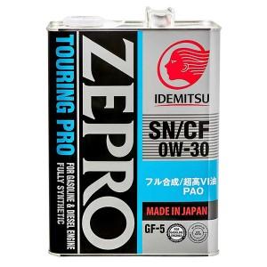 Моторное масло Idemitsu Zepro Touring Pro 0W-30 (4 л)