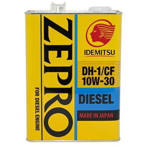 Моторное масло Idemitsu Zepro Diesel 10W-30 (4 л)
