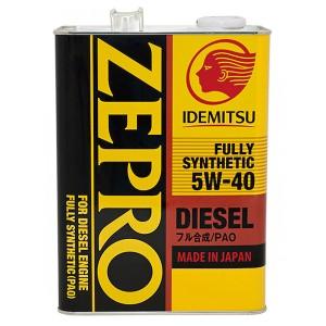 Моторное масло Idemitsu Zepro Diesel 5W-40 (4 л)