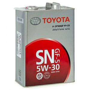 Моторное масло Toyota GF-5 5W-30 (4 л)