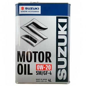 Моторное масло Suzuki 0W-20 (4 л)