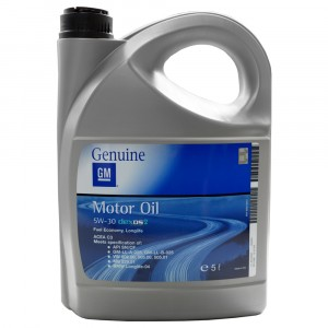 Моторное масло GM Europe Dexos2 1942003 5W-30 (5 л)