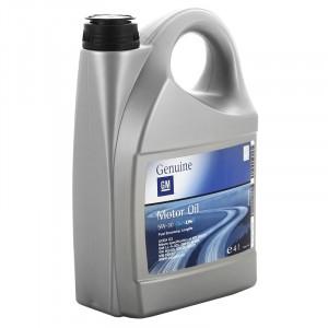 Моторное масло GM Europe Dexos2 1942002 5W-30 (4 л)