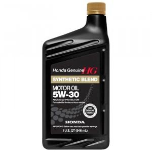 Моторное масло Honda Synthetic Blend 5W-30 (0,946 л)
