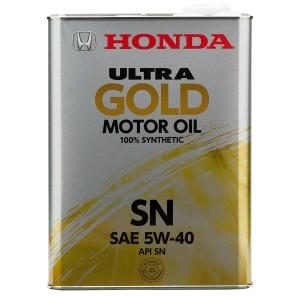 Моторное масло Honda Ultra GOLD 5W-40 (4 л)