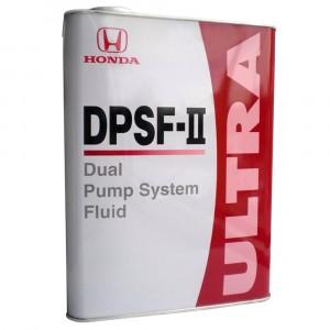 Трансмиссионное масло Honda Ultra DPSF-II (4 л)