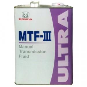Трансмиссионное масло Honda Ultra MTF-III (4 л)