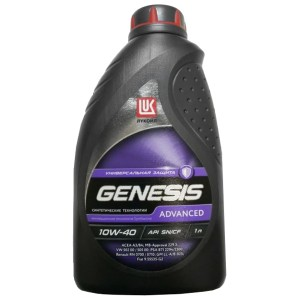 Моторное масло Лукойл Genesis Advanced 10W-40 (1 л)