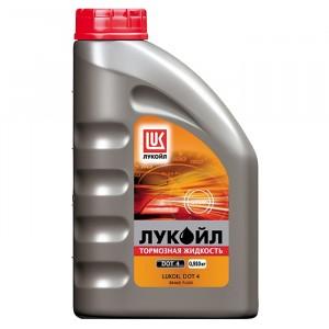 Тормозная жидкость Лукойл DOT-4 (1 л)