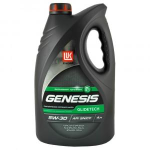 Моторное масло Лукойл Genesis Glidetech 5W-30 (4 л)