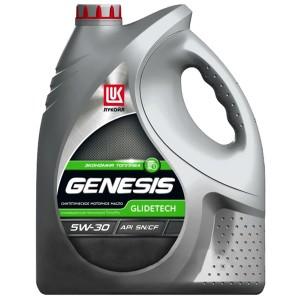 Моторное масло Лукойл Genesis Glidetech 5W-30 (5 л)