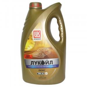 Моторное масло Лукойл Люкс 10W-40 (4 л)