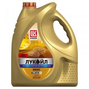 Моторное масло Лукойл Люкс 10W-40 (5 л)