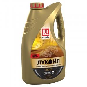 Моторное масло Лукойл Люкс 5W-30 (4 л)