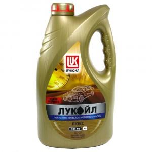 Моторное масло Лукойл Люкс SL/CF 5W-40 (4 л)