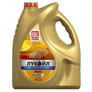 Моторное масло Лукойл Люкс SL/CF 5W-40 (5 л)