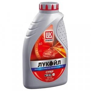 Моторное масло Лукойл Супер 5W-40 (1 л)