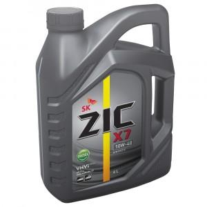 Моторное масло ZIC X7 Diesel 10W-40 (6 л)