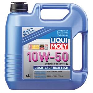 Моторное масло Liqui Moly Leichtlauf High Tech 10W-50 (4 л)
