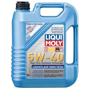 Моторное масло Liqui Moly Leichtlauf High Tech 5W-40 (5 л)