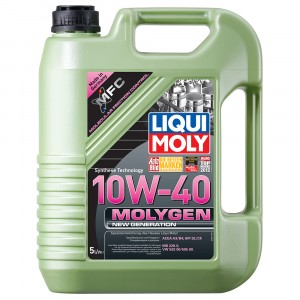 Моторное масло Liqui Moly Molygen New Generation 10W-40 (5 л)
