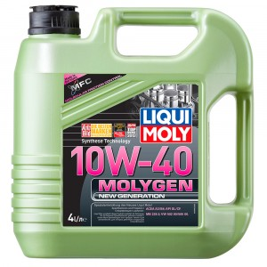 Моторное масло Liqui Moly Molygen New Generation 10W-40 (4 л)