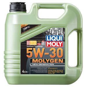 Моторное масло Liqui Moly Molygen New Generation 5W-30 (4 л)