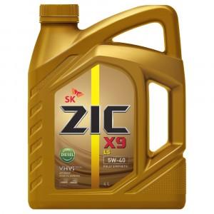 Моторное масло ZIC X9 LS Diesel 5W-40 (4 л)