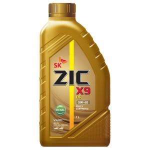 Моторное масло ZIC X9 LS Diesel 5W-40 (1 л)