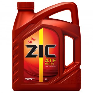 Трансмиссионное масло ZIC ATF Multi (4 л)