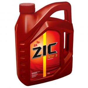 Трансмиссионное масло ZIC ATF 3 (4 л)