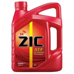 Трансмиссионное масло ZIC ATF Dexron 6 (4 л)