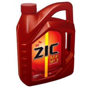 Трансмиссионное масло ZIC ATF SP 3 (4 л)