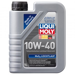 Моторное масло Liqui Moly MoS2 Leichtlauf 10W-40 (1 л)
