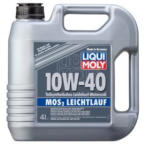 Моторное масло Liqui Moly MoS2 Leichtlauf 10W-40 (4 л)