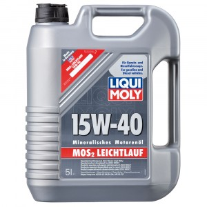 Моторное масло Liqui Moly MoS2 Leichtlauf 15W-40 (5 л)