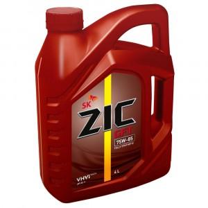 Трансмиссионное масло ZIC GFT 75W-85 (4 л)