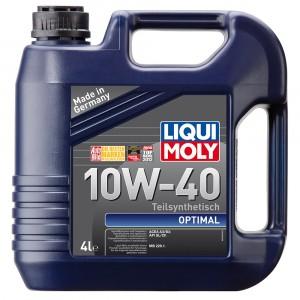Моторное масло Liqui Moly Optimal 10W-40 (4 л)