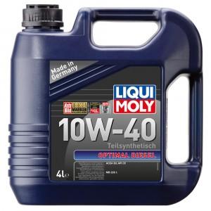 Моторное масло Liqui Moly Optimal Diesel 10W-40 (4 л)