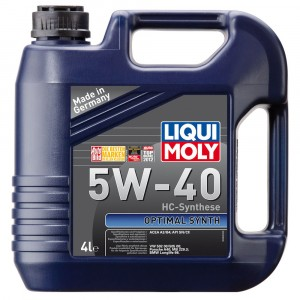 Моторное масло Liqui Moly Optimal Synth 5W-40 (4 л)