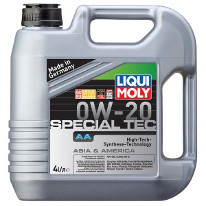 Моторное масло Liqui Moly Special Tec AA 0W-20 (4 л)