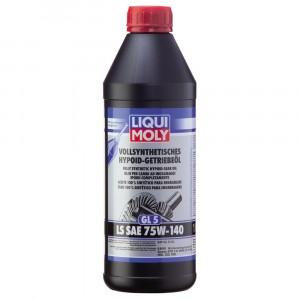 Трансмиссионное масло Liqui Moly Vollsynthetisches Hypoid-Getriebeoil LS 75W-140 (1 л)