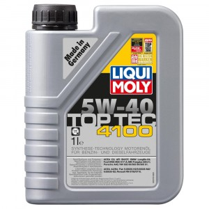 Моторное масло Liqui Moly Top Tec 4100 5W-40 (1 л)