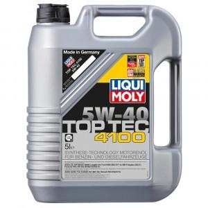 Моторное масло Liqui Moly Top Tec 4100 5W-40 (5 л)