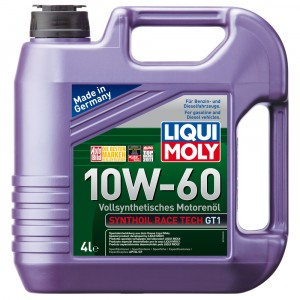Моторное масло Liqui Moly Synthoil Race Tech GT1 10W-60 (4 л)