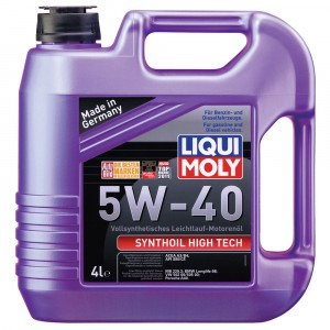 Моторное масло Liqui Moly Synthoil High Tech 5W-40 (4 л)