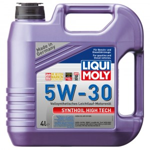 Моторное масло Liqui Moly Synthoil High Tech 5W-30 (4 л)